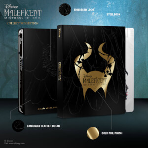Maleficent: Mistress of Evil - Zavvi Exclusive Collector's Edition Steelbook 4K Ultra HD Steelbook (Includes 2D Blu-ray)
