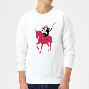 Modern Toss Alan Horse Sweatshirt - White