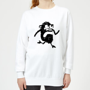 Modern Toss Alan Women's Sweatshirt - White