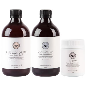 The Beauty Chef Glow, Collagen and Antioxidant Trio (Worth $149.00)