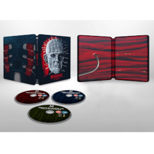Hellraiser 1–3 - Steelbook (Includes Blu-ray)