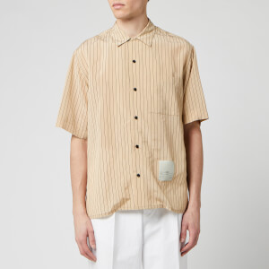 OAMC Men's Kurt Stripe Shirt - Beige