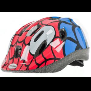 Raleigh Mystery Spiderman Cycle Helmet - Blue/Red