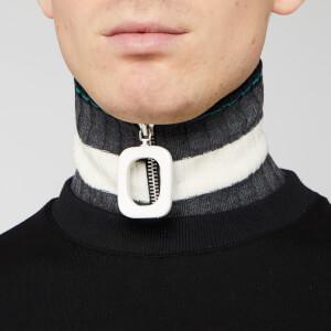 JW Anderson Men's Neckband - Graphite