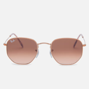 Ray-Ban Women's Hexagon Frame Sunglasses - Copper