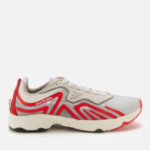 Acne Studios Men's Buzz M Trainers - White/Red