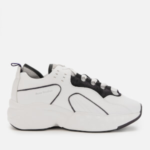 Acne Studios Men's Rockaway Leather Trainers - Multi White