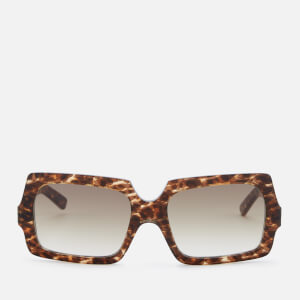 Acne Studios Men's George Large Sunglasses - Leopard/Brown Degrade