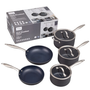 Denby Hard Anodised 5 Piece Pan Set