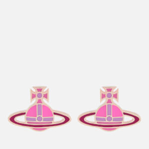 Vivienne Westwood Women's Kate Earrings - Pink Gold/Neon Pink Lilac/Fuchsia