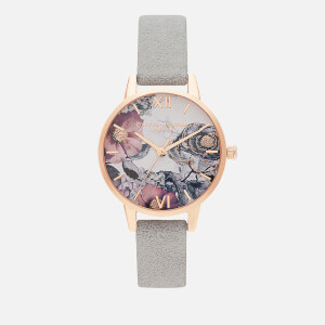 Olivia Burton Women's Environmentally Friendly Watch - Eco Grey/Rose Gold