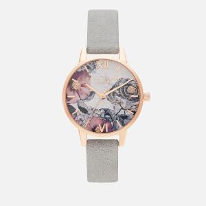Olivia Burton Women's Environmentally Friendly Watch - Eco Grey/Rose Gold