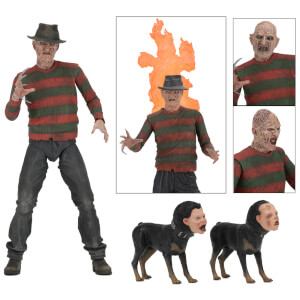 "NECA Nightmare On Elm Street 7"" Scale Figure Ultimate Part 2 Freddy"