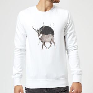Balazs Solti Winter Is All Around Sweatshirt - White