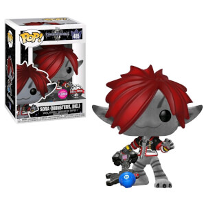 Figurine Pop! Sora Tenue Monstres & Cie (Flocked) EXC - Disney Kingdom Hearts 3