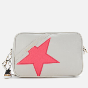 Golden Goose Deluxe Brand Women's Star Cross Body Bag - White/Neon Pink