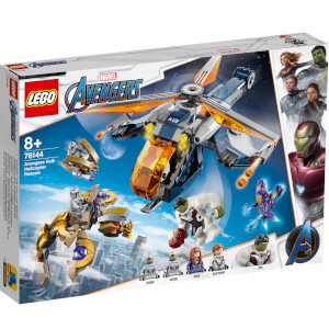 LEGO® Marvel: Avengers - Hulk salvataggio in elicottero (76144)