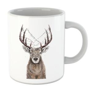 Balazs Solti Xmas Deer Mug