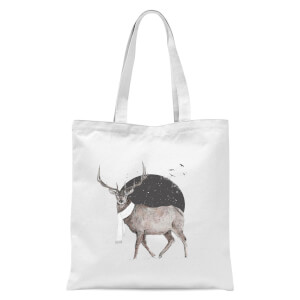 Winter Is All Around Tote Bag - White