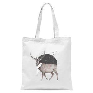 Balazs Solti Winter Is All Around Tote Bag - White