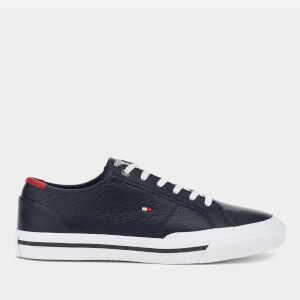Tommy Hilfiger Men's Core Corporate Flag Low Top Trainers - Desert Sky