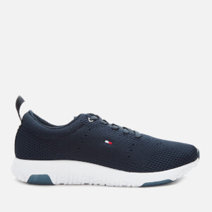 Tommy Hilfiger Men's Corporate Knit Modern Running Style Trainers - Desert Sky