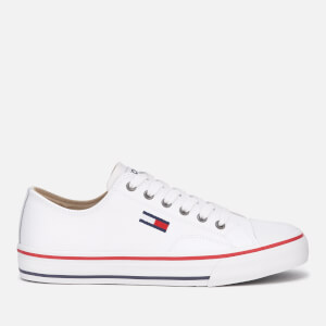 Tommy Jeans Women's Leather City Low Top Trainers - White