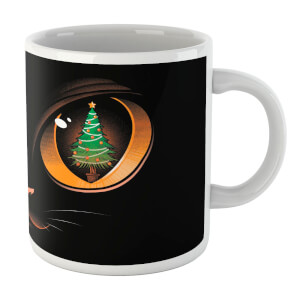 Tobias Fonseca Xmas Tree Cat Attack Mug