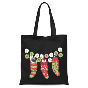 Tobias Fonseca Jingle Meow Tote Bag - Black