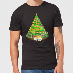Tobias Fonseca My Favorite Xmas Tree Men's T-Shirt - Black