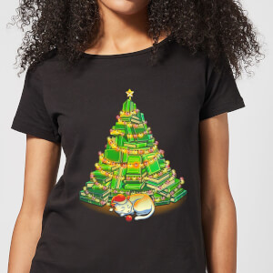 Tobias Fonseca My Favorite Xmas Tree Women's T-Shirt - Black