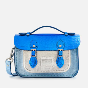 The Cambridge Satchel Company Women's The Mini Satchel - Royal/Light Royal/Silver