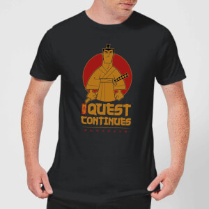 Samurai Jack My Quest Continues Men's T-Shirt - Black