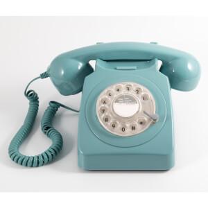 GPO 746 Rotary Phone - Mint Green