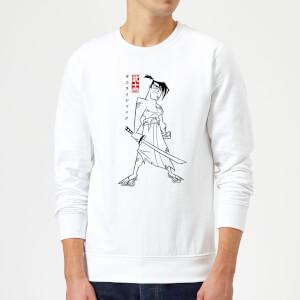 Samurai Jack Kanji Sweatshirt - White