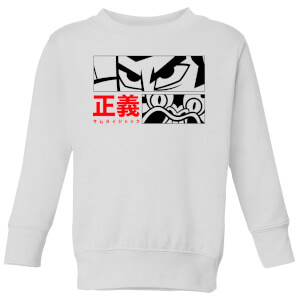 Samurai Jack Arch Nemesis Kids' Sweatshirt - White