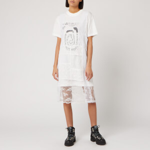 McQ Alexander McQueen Women's Satsuki Dress - White/Cream