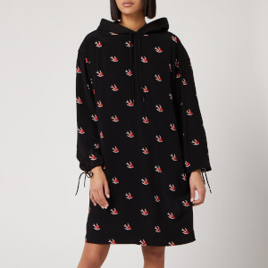 McQ Alexander McQueen Women's Umeko Hoody Dress - Darkest Black