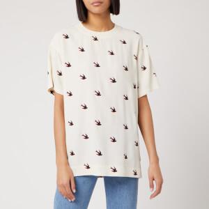 McQ Alexander McQueen Women's Umeko Seam T-Shirt - Oyster
