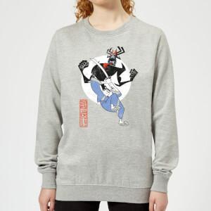 Samurai Jack Eternal Battle Women's Sweatshirt - Grey