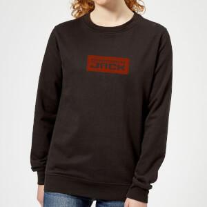 Samurai Jack Classic Logo Women's Sweatshirt - Black