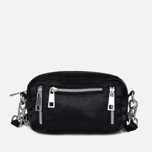 Núnoo Women's Brenda Satin Cross Body Bag - Black