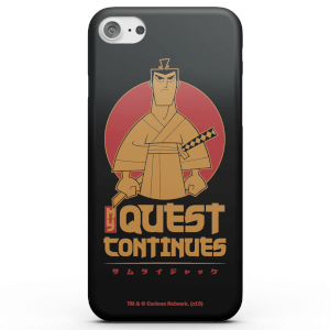 Cover telefono Samurai Jack My Quest Continues per iPhone e Android