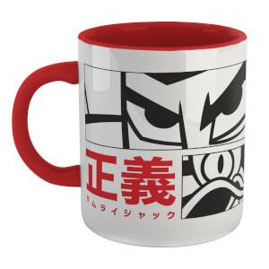 Samurai Jack Arch Nemesis Mug - White/Red