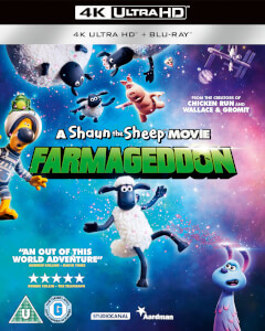 A Shaun The Sheep Movie: Farmageddon - 4K Ultra HD (Includes Blu-ray)
