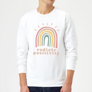 Radiate Positivity Sweatshirt - White