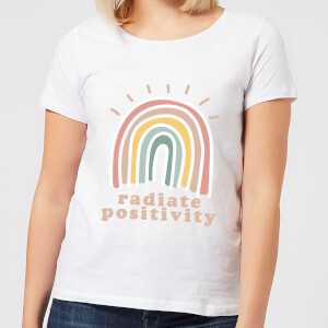 Radiate Positivity Women's T-Shirt - White
