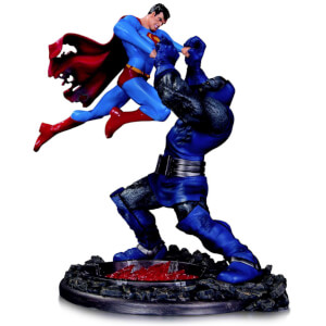DC Collectibles DC Comics Superman vs Darkseid Battle Statue Third Edition