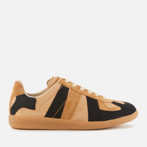 Maison Margiela Men's Replica Laser Trainers - Stucco/Hazel