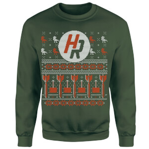 How Ridiculous Ugly Holiday Christmas Sweatshirt - Forest Green
